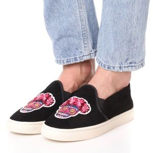 Soludos Day Of The Dead Slip-On Sneaker